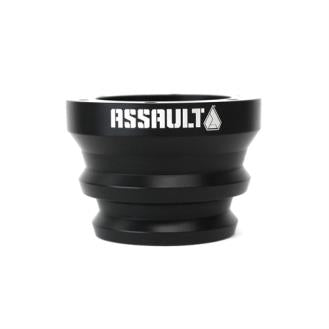 Assault Industries Black Billet Steering Wheel Adapter - 100005SW1021
