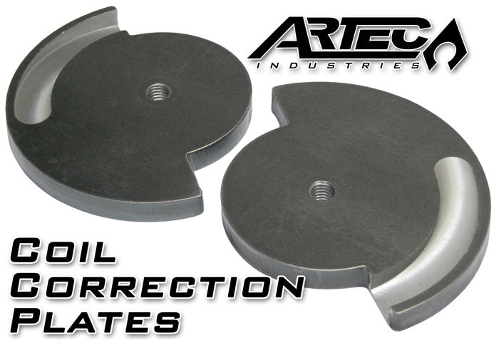 Jeep ZJ Coil Correction Plates 93-98 Jeep ZJ Pair Artec Industries