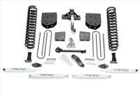 Fabtech 6 Inch Basic Lift Kit w/Performance Shocks - K2118 - Skinny Pedal Racing