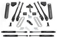 6 Inch 4 Link Lift Kit w/Stealth Shocks - FABK2120M