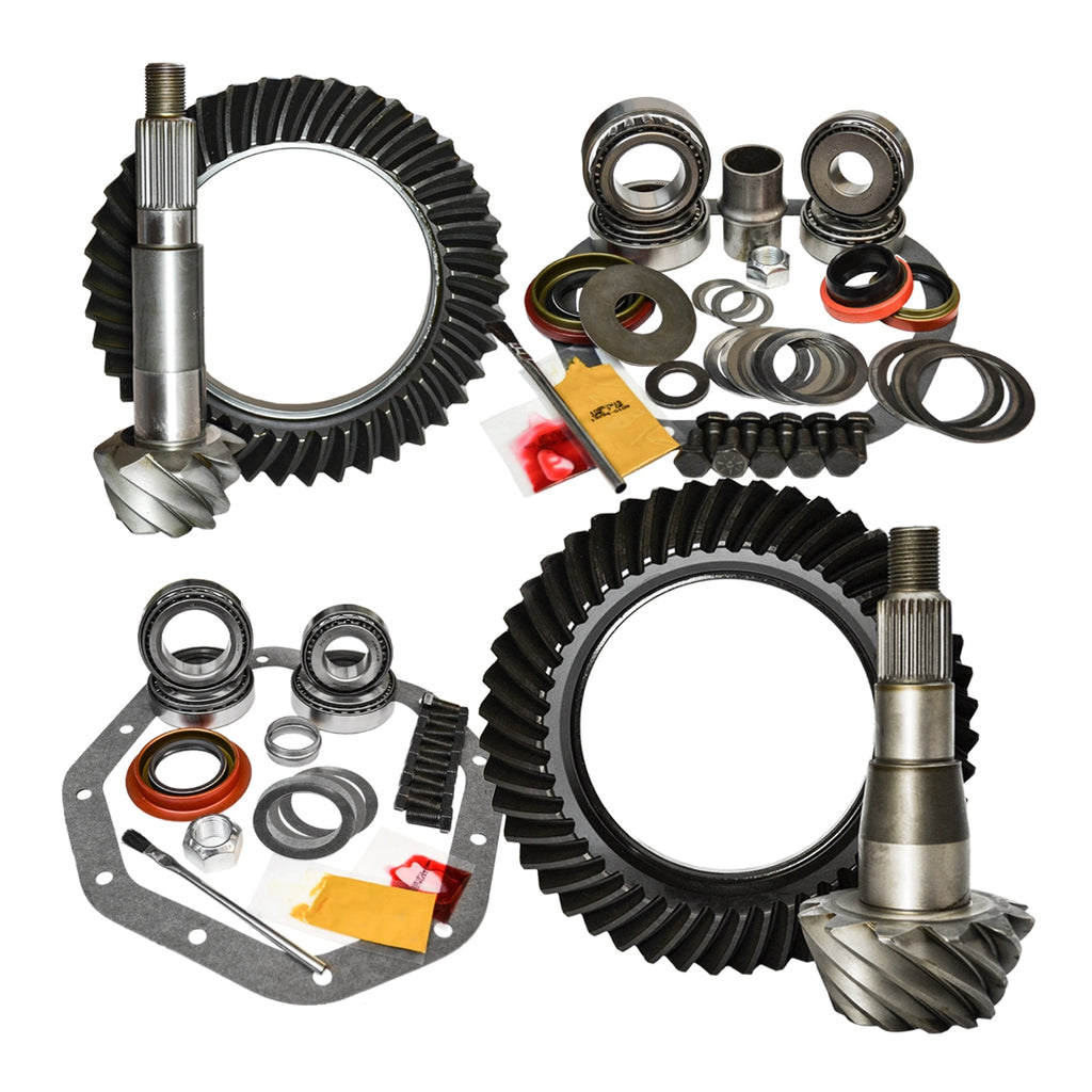 94-01 Dodge Ram 1500 4.56 Ratio Gear Package Kit Nitro Gear and Axle - Skinny Pedal Racing