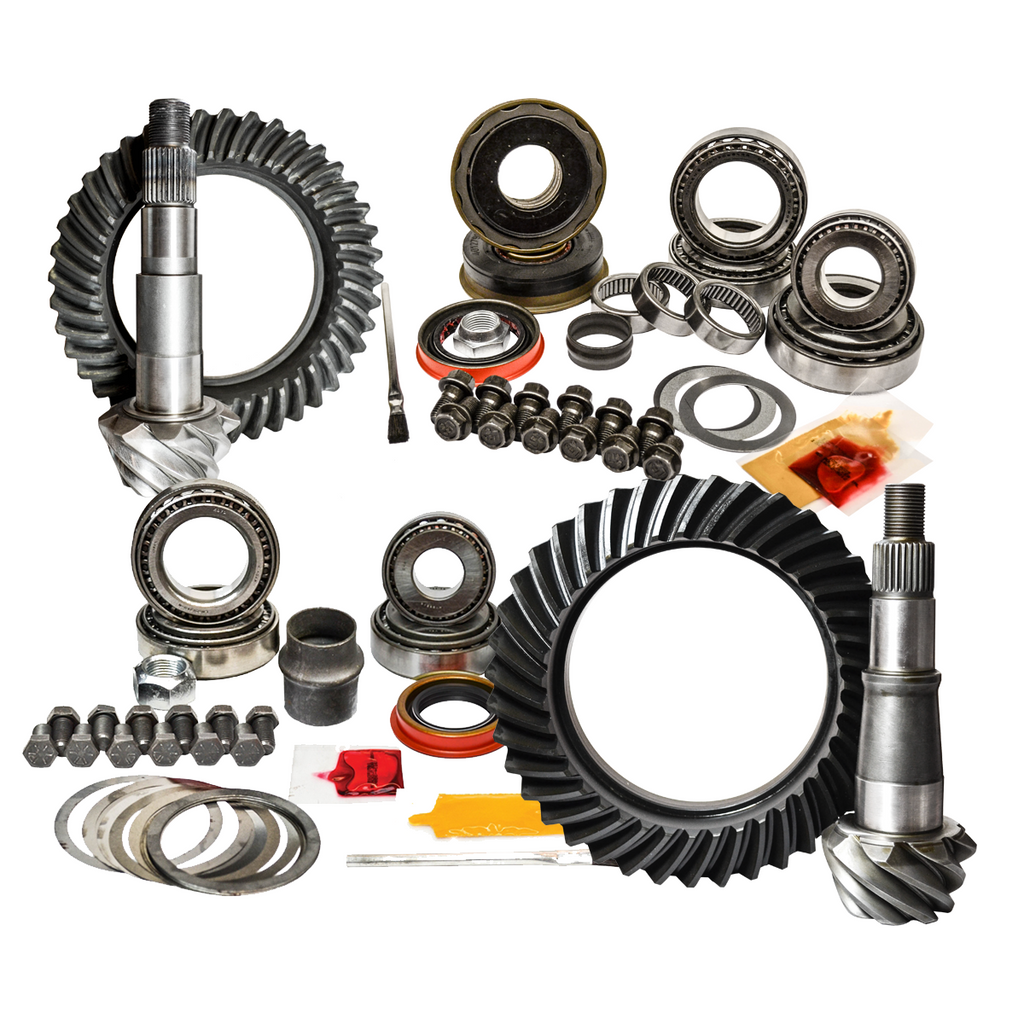 Ram 2500/3500 Front & Rear Gear Package Kit 4.56 Ratio 11-15 Ram 2500/3500 13-50 Ram with Aisin Trans Nitro Gear and Axle
