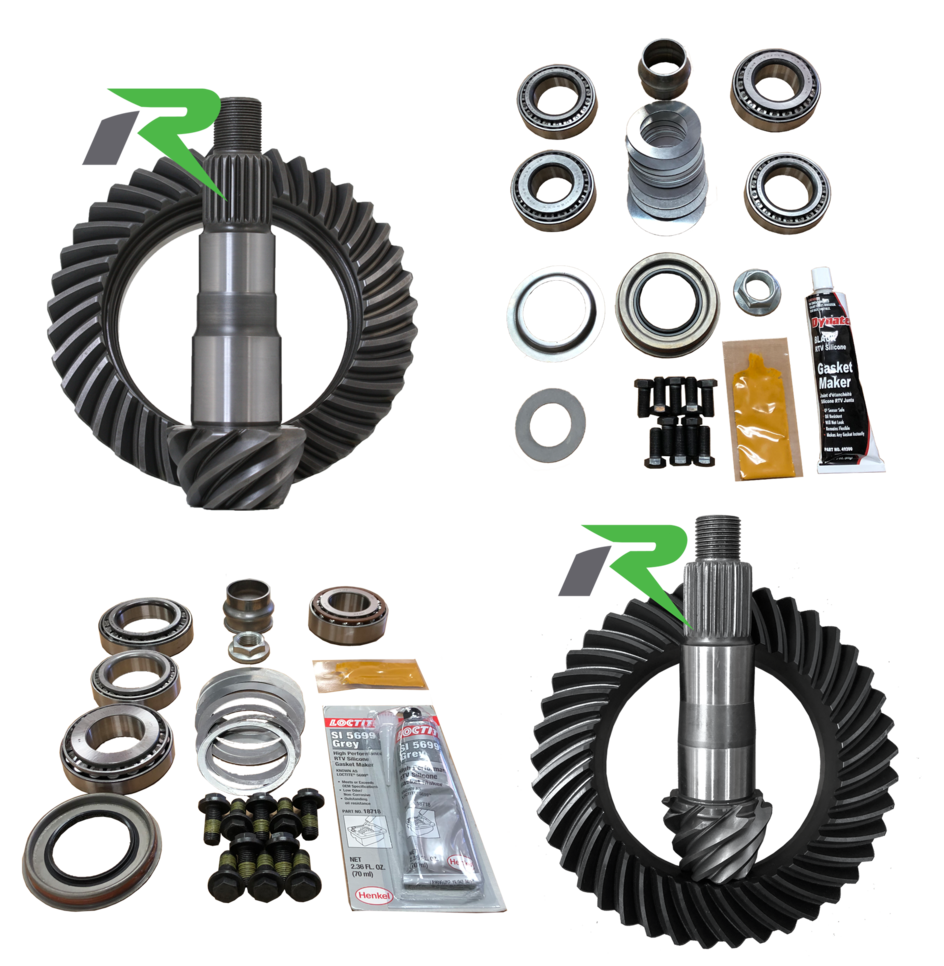 JL Non-Rubicon D44/D30R 4.56 Ratio Gear Package (220MM-186MM) Revolution Gear