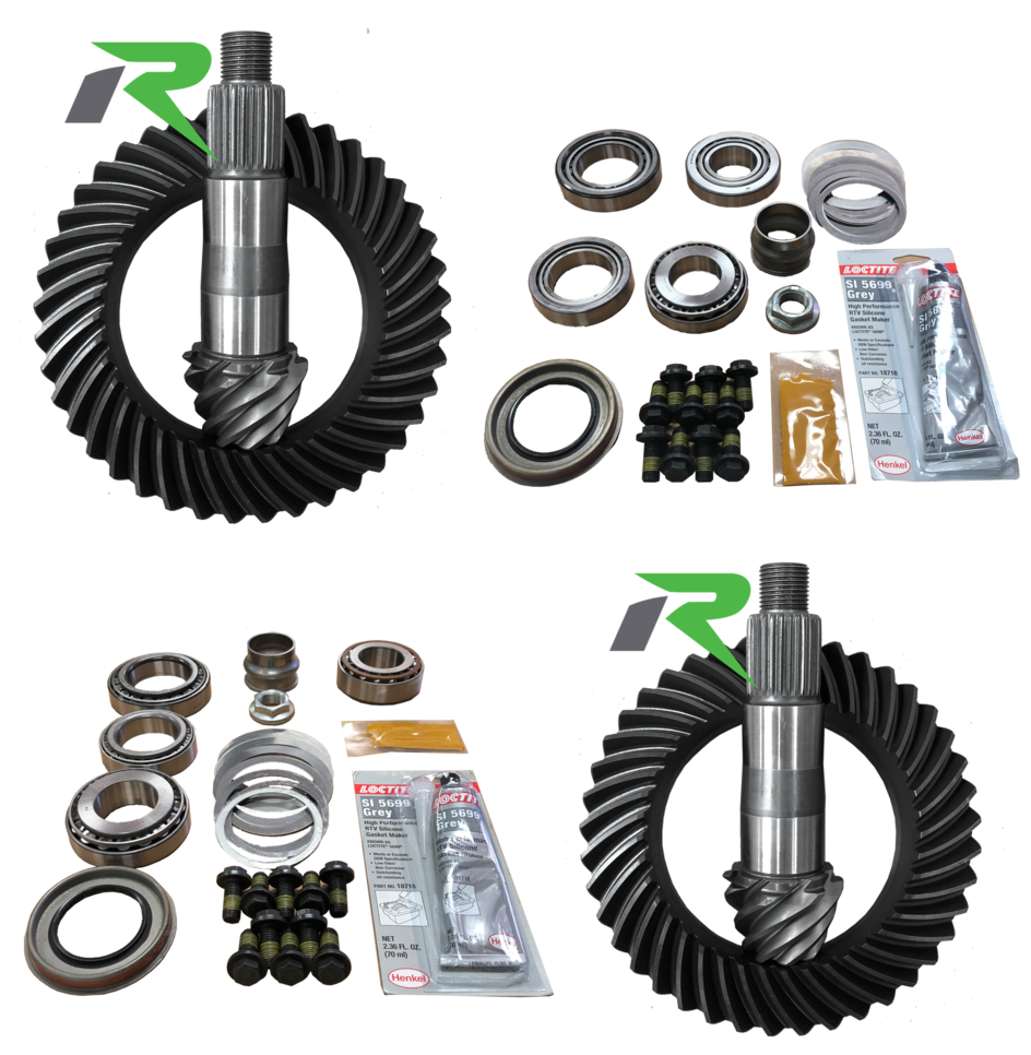 JL Rubicon D44/D44R 5.13 Ratio Gear Package (220MM-210MM) Revolution Gear