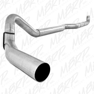 "2001-2007 Chevy/GMC 2500/3500 Duramax 4"" Down Pipe Back, Single Side, Off-Road (includes front pipe) - no muffler"