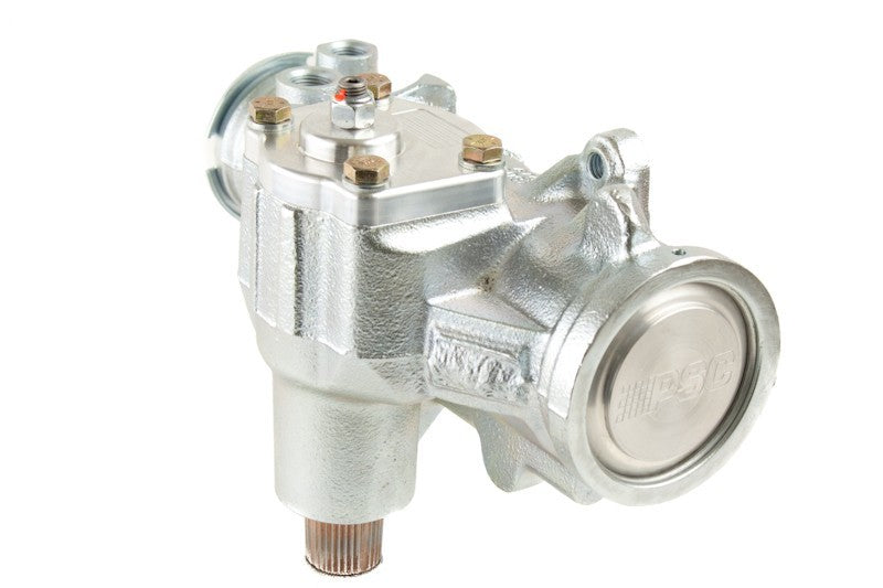 Pro Touring 12.7:1 Power Steering Gear Box 1965-1976 GM Passenger (SAE Inverted Flare) PSC Performance Steering Components