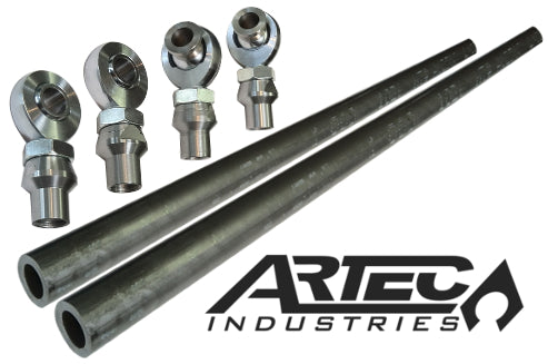 Superduty Crossover Steering Kit with 7/8 in Premium JMX Rod Ends Artec Industries