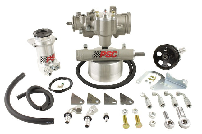 Cylinder Assist Steering Kit, 2003-06 Jeep LJ/TJ with D60 Axle PSC Performance Steering Components