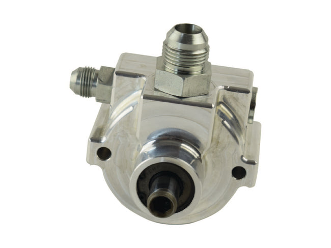 Full Race Billet CBR Remote-Fill Power Steering Pump, #8AN Press #12 AN Feed PSC Performance Steering Components