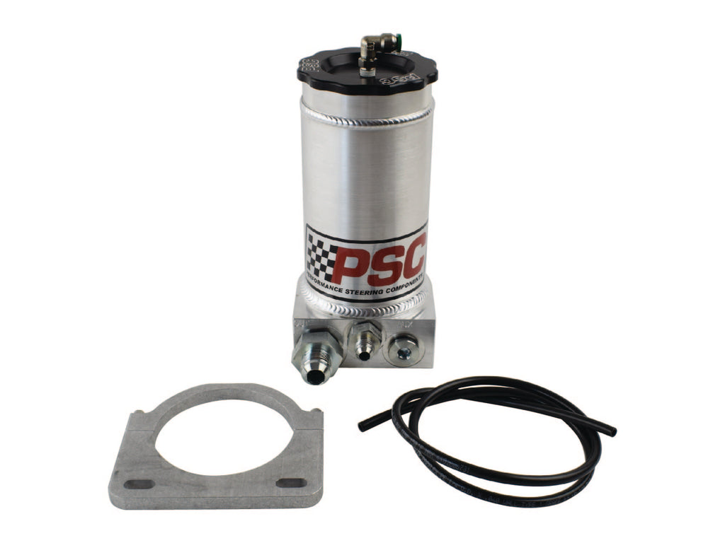 Off Road Remote Reservoir Kit, #8AN Return #12AN Feed PSC Performance Steering Components