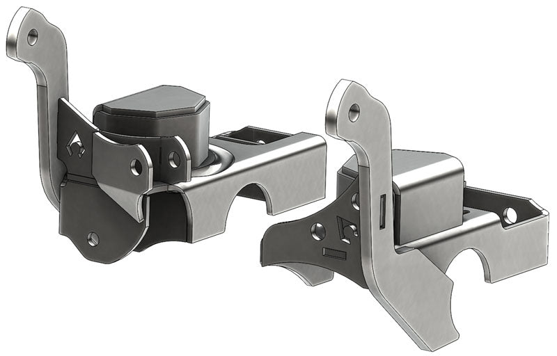 Coil / LCA Combo Brackets For TJ/LJ/XJ/ZJ Front Axle CAM Slot Artec Industries - Skinny Pedal Racing