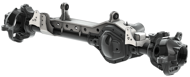 TJ 1 Ton Superduty 99-04 Front Dana 60 Swap Kit W/Adjustable Truss Upper Link Mount Single Artec Industries