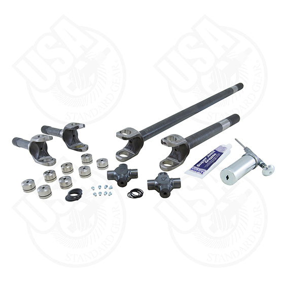 Ford Replacement Axle Kit Bronco and F150 Dana 44 W/Super Joints 4340 Chrome Moly USA Standard Gear - Skinny Pedal Racing