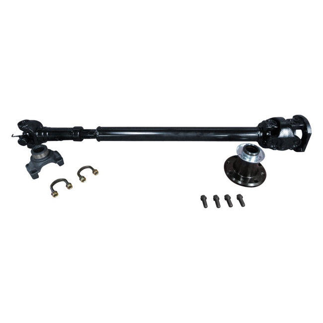 Adams Driveshaft JK Front 1350 CV Solid U-Joint