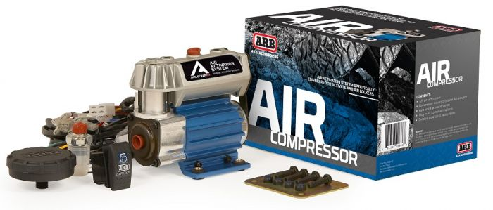 ARB Compact On-Board Air Compressor Kit - CKSA12 - Skinny Pedal Racing