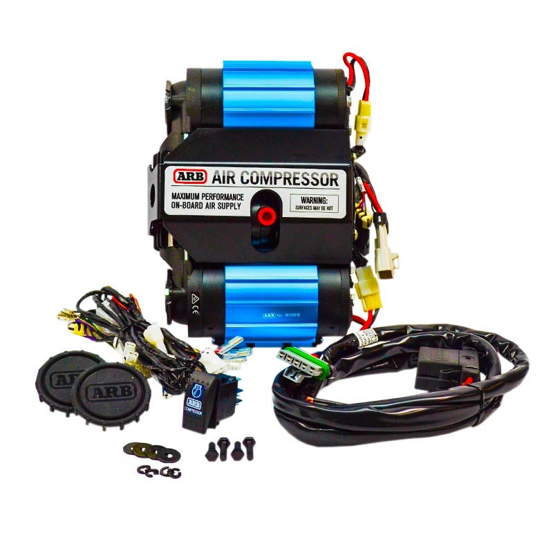 ARB On-Board Twin High Performance 12 Volt Air Compressor - CKMTA12 - Skinny Pedal Racing