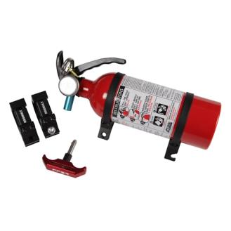 Assault Industries Fire Extinguisher Mount Kit - 1.75 Inch - Black/Red - 101005FE01212