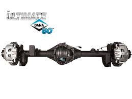 Ultimate Dana 60 Crate Axle - Jeep Wrangler JL - Rear 5.38 ELD 10048784