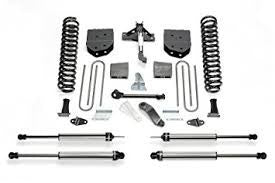 Fabtech 6 Inch Basic Lift Kit w/Dirt Logic SS Shocks - K2118DL