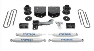 Fabtech 4 Inch Budget Lift Kit w/Performance Shocks - K2160