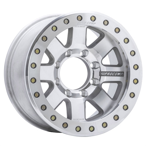 Pro Comp 75 Series Trilogy Race, 17x9 with 8x6.5 Bolt Pattern - Super Machined - 1175-798247 - Skinny Pedal Racing