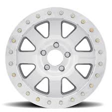 Pro Comp 75 Series Trilogy Race, 17x9 with 6x5.5 Bolt Pattern - Super Machined - 1175-798337 - Skinny Pedal Racing