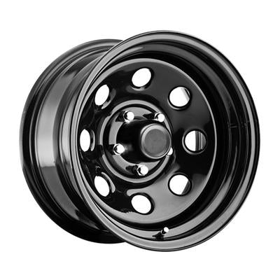 Pro Comp 97 Series Rock Crawler Monster Mod, 17x8 Wheel with 8 on 170 Bolt Pattern - Gloss Black - 97-7887 - Skinny Pedal Racing