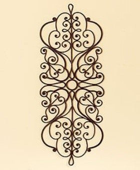 Artisan-Crafted Dark Brown Wall Decor