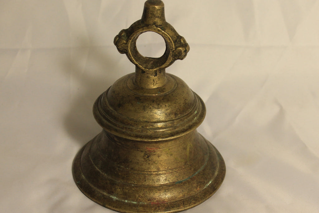 Antique Brass Temple Bells