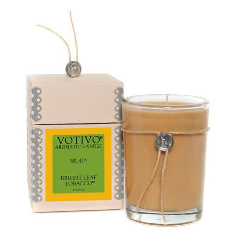 Bright Leaf Tobacco Jar Candle
