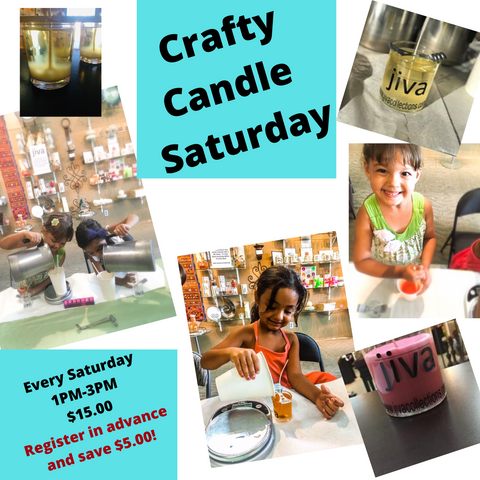 Crafty Candle Saturday's!