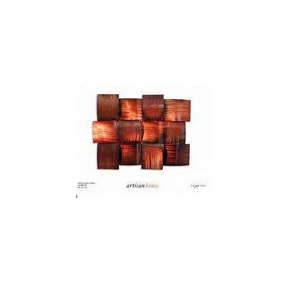Crimson Sheen Set/2 Wall Decor