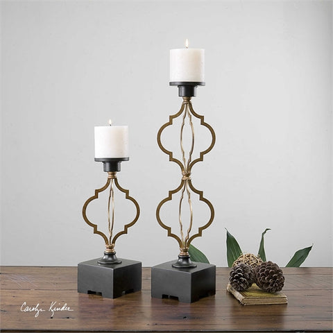 Gilberto Candle holders Set/2