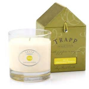 Lemongrass Verbena No.10 Candle