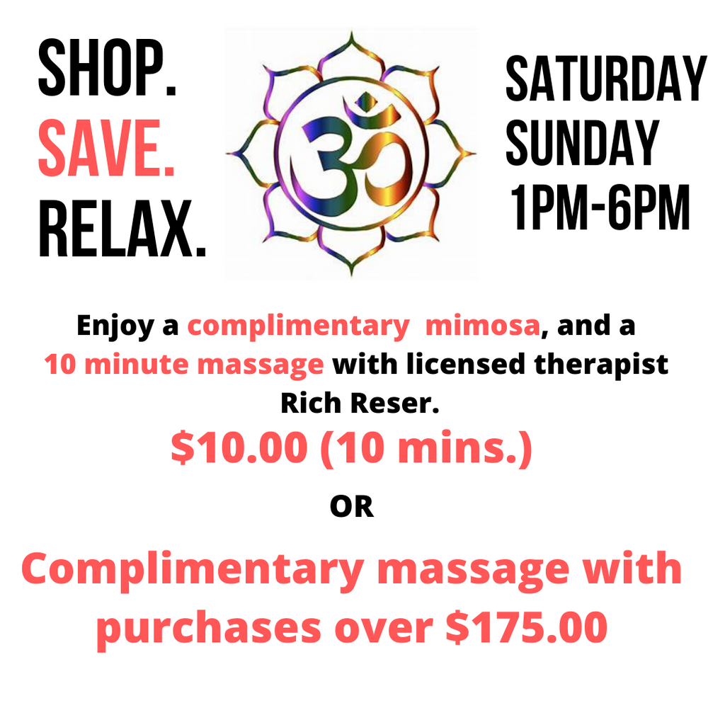 Shop. Save. Relax
