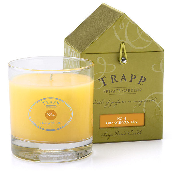 Orange Vanilla No.4 Candle