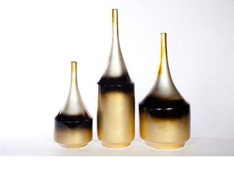 Large and Wide Tigers Eye Bottle