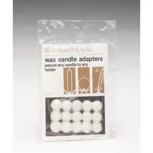 Wax Candle Adaptors