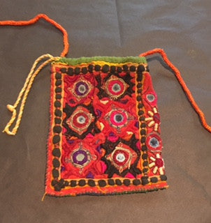 Hand-Stitched Antique Bag