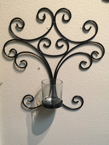 Single Pillar Candle Holder