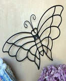 Artisan-Crafted Metal Butterfly
