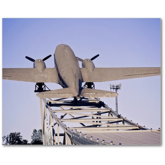 Premium Canvas Gallery Wrap: The Roasterie Plane (8x10)