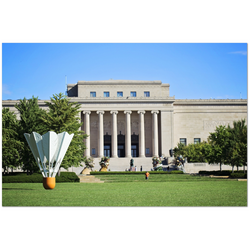 Premium Canvas Gallery Wrap: Nelson Atkins Museum (24x36)