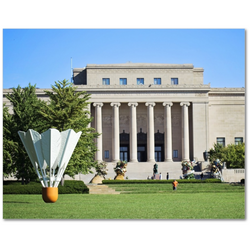 Premium Canvas Gallery Wrap: Nelson Atkins Museum (11x14)