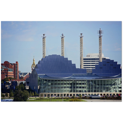 Premium Canvas Gallery Wrap: The Kauffman Center (24x36)