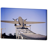 Premium Canvas Gallery Wrap: The Roasterie Plane (24x36)