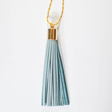 Bohemian Leather Tassel Necklace