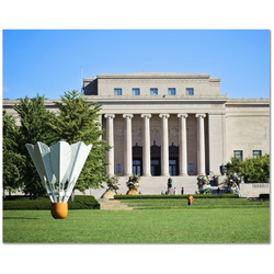 Premium Canvas Gallery Wrap: Nelson Atkins Museum (16x20)