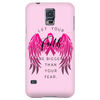 Pink Ribbon Cell Phone Case