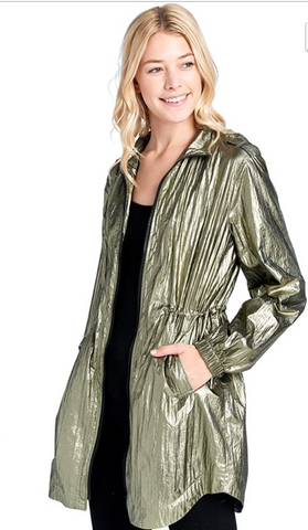 Metallic Wind Breaker